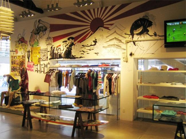 store interior design, store design