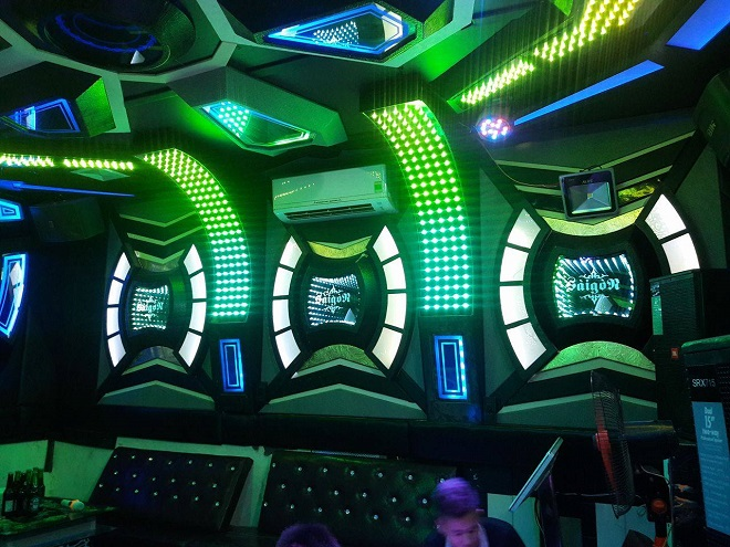 Thiết kế karaoke đẹp giá rẻ tại Hà Nội, Hưng Yên, Vĩnh Phúc
