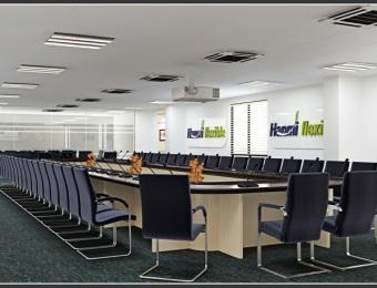 Thiết kế văn phòng Hanmi