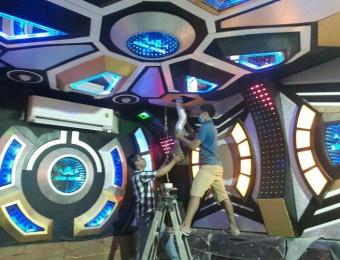 Thi công phòng karaoke vip đẹp sang trọng ở Bến Tre