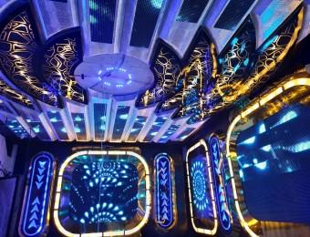 Thi công karaoke Vip giá Rẻ cảm ứng theo nhạc tại Ninh Bình