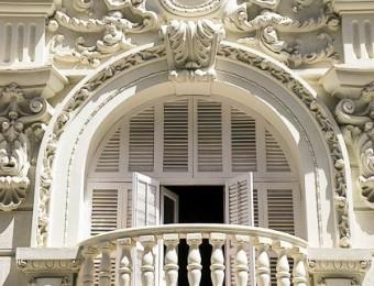 Chuyên nhận đắp đúc hoa văn đầu cột nhà kiểu pháp lâu đài biệt thự cổ điển